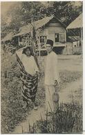 Native Muslim Couple With Durian .  No S.1  Malay - Malaysia