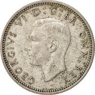 Monnaie, Grande-Bretagne, George VI, 6 Pence, 1943, TTB+, Argent, KM:852 - 1902-1971 : Monnaies Post-Victoriennes