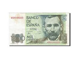 Billet, Espagne, 1000 Pesetas, 1982-1987, 1979-10-23, KM:158, TTB - [ 4] 1975-… : Juan Carlos I