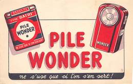 VP-GF.18 -.7445: BUVARD. PILE WONDER - Buvards, Protège-cahiers Illustrés