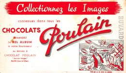 VP-GF.18 -.7446 : BUVARD. CHOCOLAT POULAIN. - Buvards, Protège-cahiers Illustrés