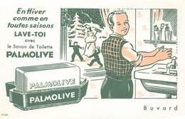VP-GF.18 -.7448 : BUVARD. SAVON PALMOLIVE. - Buvards, Protège-cahiers Illustrés