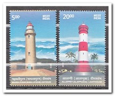 India 2012, Postfris MNH, Lighthouses - India