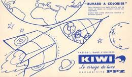 VP-GF.18 -.7449 : BUVARD. CIRAGE KIWI. PPZ.  FUSEE. - Buvards, Protège-cahiers Illustrés