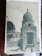 19232) JORDAN PALESTINE ANTICO TEMPIO VIAGGIATA BOLLO ASPORTATO - Jordan