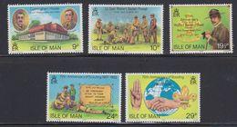 Isle Of Man 1982 Scouting 5v ** Mnh (40945) - Man (Eiland)