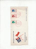 INDONESIA 1965 - Annullo Seciale Ilustrato - Amocizia Indonesia-Cuba - Indonesia