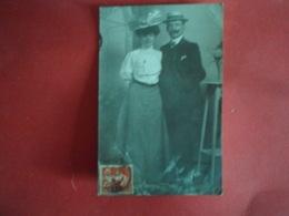 Carte Postale  Carte Photo Couple - Couples