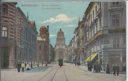BRUXELLES  RUE DE LA REGENCE LE PALAIS DE JUSTICE  TRAM - Vervoer (openbaar)