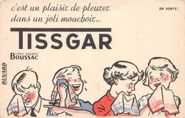 VP-GF.18 -.754 : BUVARD. MOUCHOIR TISSAGAR. BOUSSAC. - Buvards, Protège-cahiers Illustrés