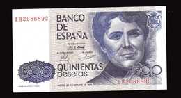 ESPAGNE  Billet De 500 Pesetas   23 Octobre 1979 - [ 4] 1975-… : Juan Carlos I
