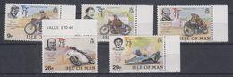 Isle Of Man 1982 TT Races 5v ** Mnh (40945A) - Man (Eiland)