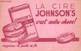 VP-GF.18 -.757 : BUVARD. CIRE JOHNSON'S - Buvards, Protège-cahiers Illustrés