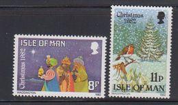 Isle Of Man 1982 Christmas 2v ** Mnh (40945C) - Man (Eiland)