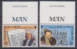 Europa Cept 1982 Isle Of Man  2v  (+margin) ** Mnh (40945E) - Europa-CEPT
