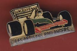 54483- Pin's.Éric Angelvy Est Un Ancien Pilote De Course Français.F3.Rallye.boulanger... - Rallye