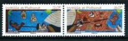 """Wallis YT 683 & 684 Paire """" Contes Et Légendes """" 2007 Neuf** - Wallis Y Futuna"""
