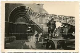 Pompiers De Tournai, 9 Snapshots +- 6 X 9,5 Cm. Action Pendant Un Entrainement Ou Intervention? L'on Voit Le Camion - Photos