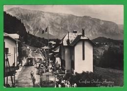 Tarvisio Confine Dogana Douane Customs Zoll Varco Di Coccau Cpa 1954 - Dogana