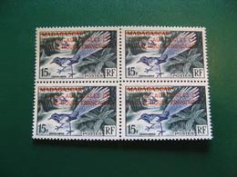 TAAF YVERT POSTE ORDINAIRE N° 1 BLOC DE 4 - TIMBRES NEUFS** LUXE - MNH - SERIE COMPLETE - COTE 88,00 EUROS - Französische Süd- Und Antarktisgebiete (TAAF)