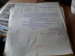 Elso Horvat Takarekpenztar Ujvideki Fiokja Zagreb Ujvidek 1943 Novi Sad - Facturas & Documentos Mercantiles