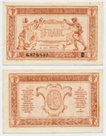 1917 // TRESORERIE AUX ARMEE // Un Franc // Série D - Treasury