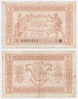 1917 // TRESORERIE AUX ARMEE // Un Franc // Série M - Trésor