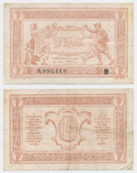 1917 // TRESORERIE AUX ARMEE // Un Franc // Série M - Tesoro