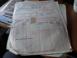 Felten Es Guilleaume Budapest 1943 1934 Stamps 10 Filler - Facturas & Documentos Mercantiles