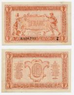1919 // TRESORERIE AUX ARMEE // Un Franc // Série Z - Schatkamer