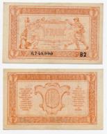 1919 // TRESORERIE AUX ARMEE // Un Franc // Série B2 - Treasury