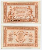 1917 // TRESORERIE AUX ARMEE // Un Franc // Série A - Treasury