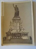 J516.1 Photo/ LITHO Romanet - Ca 1885 - Place De La République - PARIS - Monument à La Gloire De La République Française - Autres
