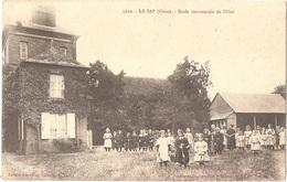 Dépt 61 - LE SAP - École Communale De Filles - Édition Boutellier, Buraliste, Le Sap - N° 5622 - France