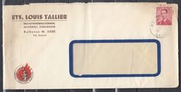Brief Van Asse Louis Tallier - 1953-1972 Lunettes