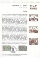 DOCUMENT OFFICIEL 11/75 ARPHILA - COTE 2009 = 9.00 € - Documents Of Postal Services