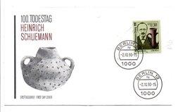 ALLEMAGNE DDR RDA 1990 HEINRICH SCHLIEMANN ARCHEOLOGUE - Archéologie