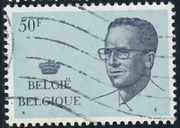 Belgique 1981 Yv. N°2021 - 50F Bleu Pâle Et Bleu Foncé - Oblitéré - 1981-1990 Velghe