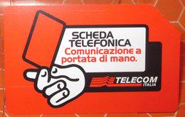 TELECOM LIRE 5.000  SCHEDA TELEFONICA USED - Italia