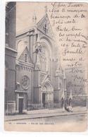 """VERVIERS  """"Eglise Des Jésuites , Rue De Rome -     """" Nels Circulée En 1933  DEMOLIE (voir Scans ) - Verviers"""
