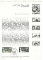 DOCUMENT OFFICIEL 9/75 ARPHILA - COTE 2009 = 8.00 € - Documents Of Postal Services