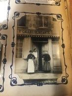 50 GRANVILLE CARTE PHOTO 3 RUE DU PORT  VEUVE CALLEC DEBITANTE - Granville
