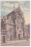 """VERVIERS  """"Eglise Des Jésuites , Rue De Rome -    """" Circulée En 1912  DEMOLIE (voir Scans ) - Verviers"""