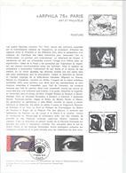 DOCUMENT OFFICIEL 7/75 ARPHILA - COTE 2009 = 8.00 € - Documents Of Postal Services