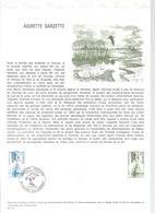 DOCUMENT OFFICIEL 5/75 AIGRETTE - COTE 2009 = 15.00 € - Documents De La Poste