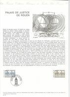 DOCUMENT OFFICIEL 4/75 ROUEN - COTE 2009 = 13.00 € - Documents De La Poste