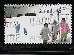 CANADA  1995, USED  #1578,  THE ARTIC: CHILDREN - 1952-.... Règne D'Elizabeth II