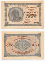 MINES DOMANIALES DE LA SARRE // Cinquante Centimes // Série A - Treasury