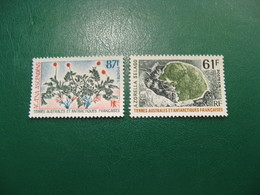TAAF YVERT POSTE ORDINAIRE N° 52/53 - TIMBRES NEUFS** LUXE - MNH - SERIE COMPLETE - COTE 14,20 EUROS - Neufs