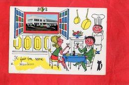 Carte Postale - MAULEON - D79 - Il Fait Bon Vivre - Mauleon
